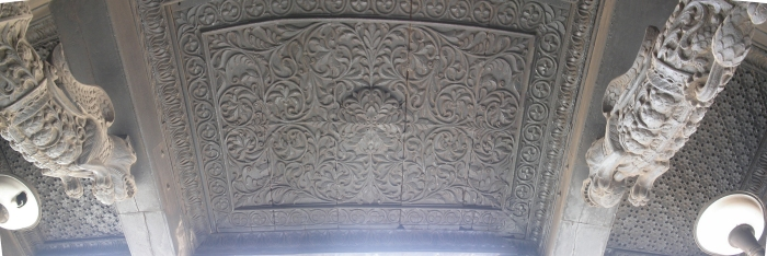 Ceiling over Entrance